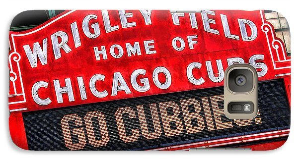 Chicago Cubs Wrigley Field Galaxy S7 Case