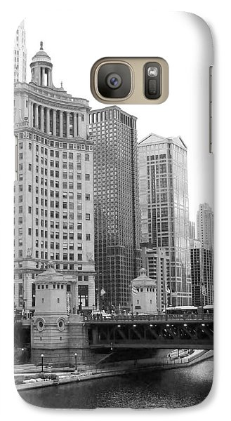 Galaxy Case featuring the photograph Chicago Downtown 2 by Bruce Bley