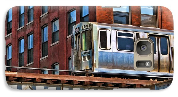 Chicago El And Warehouse Galaxy S7 Case by Christopher Arndt