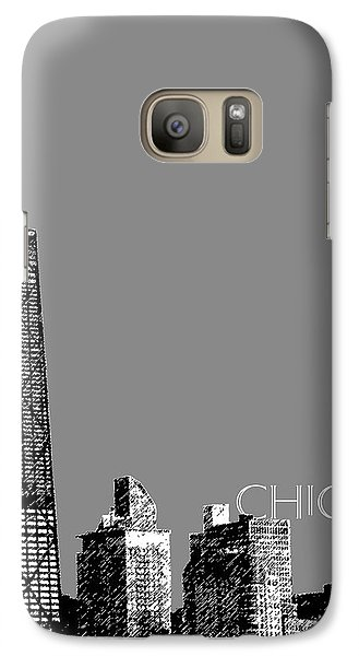 Chicago Hancock Building - Pewter Galaxy S7 Case