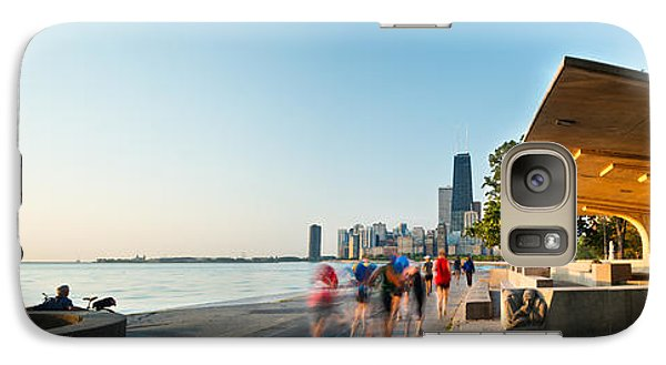 Chicago Lakefront Panorama Galaxy S7 Case