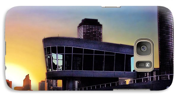 Galaxy Case featuring the photograph Chicago Lock Tower by John Hansen