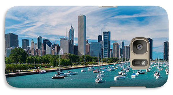Chicago Skyline Daytime Panoramic Galaxy S7 Case by Adam Romanowicz