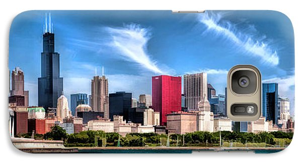Chicago Skyline Panorama Galaxy S7 Case