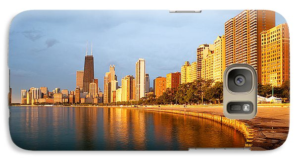 Chicago Skyline Galaxy S7 Case by Sebastian Musial