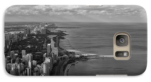 Galaxy Case featuring the photograph Chicago's Lake Front by Jerome Lynch