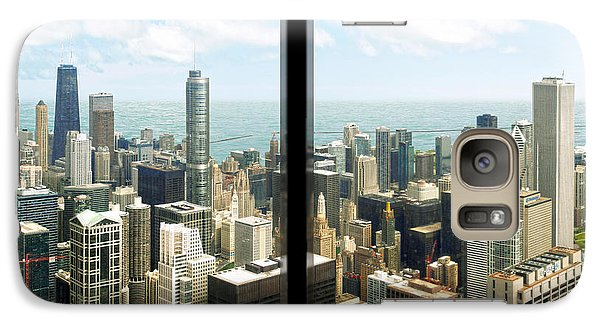 Galaxy Case featuring the photograph Chicago's Tallest by Doug Kreuger