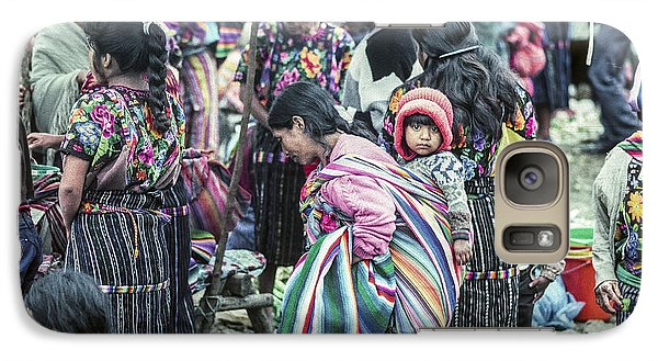Galaxy Case featuring the photograph Chichi Market by Tina Manley