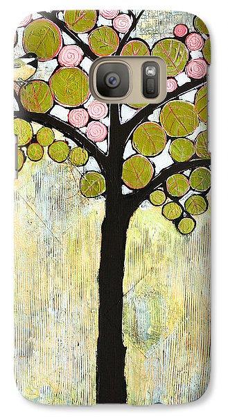 Chickadee Tree Galaxy S7 Case