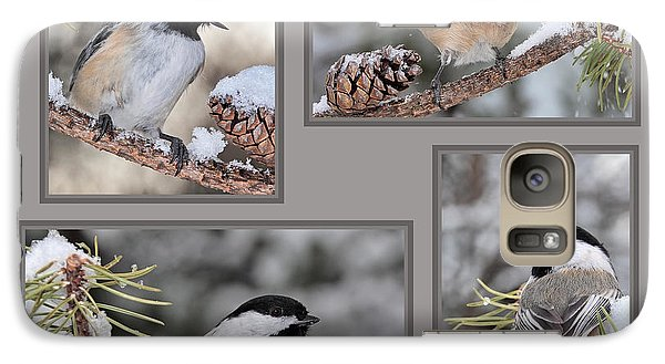 Chickadees In Winter Galaxy S7 Case