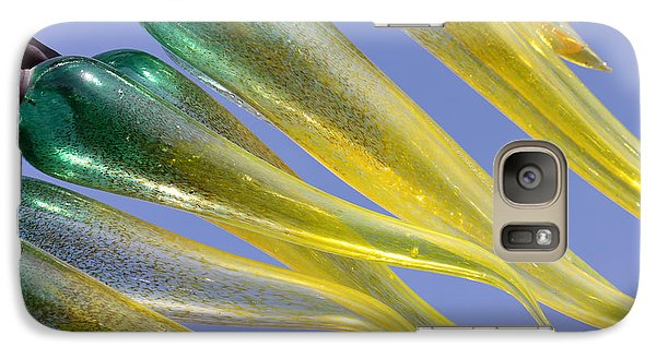 Galaxy Case featuring the photograph Chihuly Abstract by Debbie Hart
