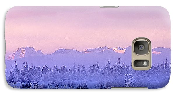 Galaxy Case featuring the photograph Chilcotin Morning by Thomas Born