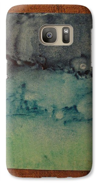 Galaxy Case featuring the painting Childhood Moods by Lawrence Christopher