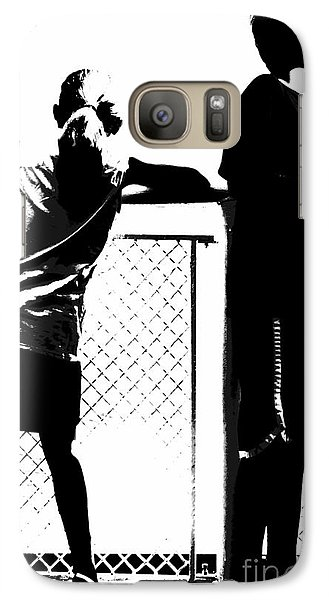Galaxy Case featuring the photograph Children On Governors Island Ferry Ride by Lilliana Mendez