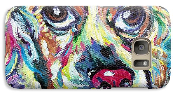 Galaxy Case featuring the painting Chili Dog by Susan DeLain