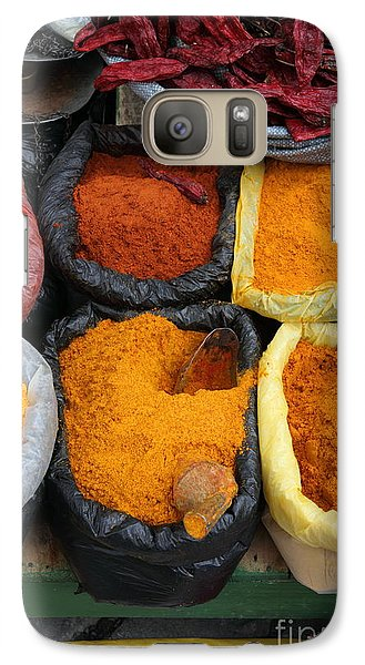 Chilli Powders 3 Galaxy Case by James Brunker