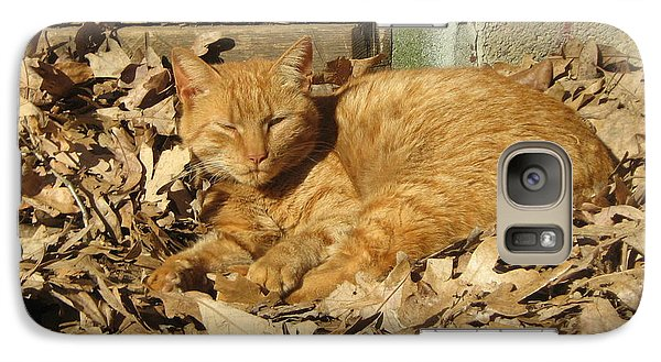 Galaxy Case featuring the photograph Chillin' Out by Wendy Coulson