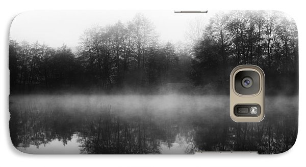 Galaxy Case featuring the photograph Chilly Morning Reflections by Miguel Winterpacht