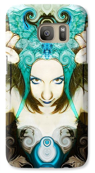 Galaxy Case featuring the photograph Chimera by Heather King