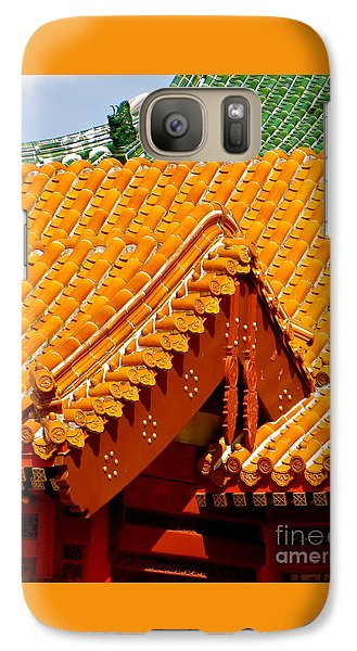 Galaxy Case featuring the photograph China Pavilion by Joy Hardee