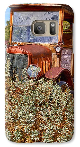 Galaxy Case featuring the photograph China Ranch Truck by Jerry Fornarotto