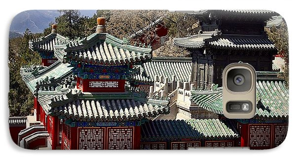 Galaxy Case featuring the photograph China Summer Palace by Henry Kowalski