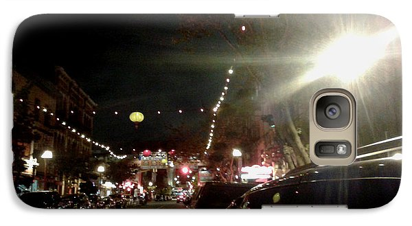 Galaxy Case featuring the photograph Chinatown Night by Mark Alan Perry