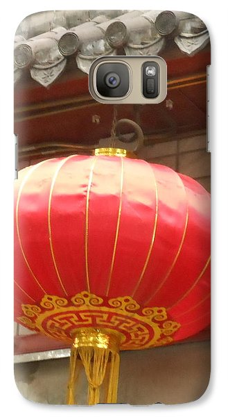 Galaxy Case featuring the photograph Chinese Lantern by Kay Gilley