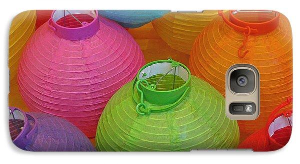 Galaxy Case featuring the photograph Chinese Lanterns by Ranjini Kandasamy