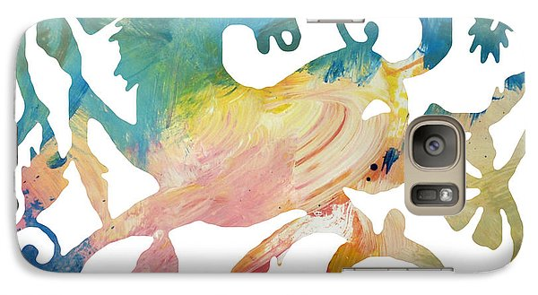 Galaxy Case featuring the digital art Chinese New Year 2014 Year Of The Horse by John Fish