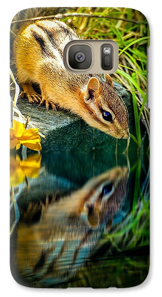 Chipmunk Reflection Galaxy S7 Case