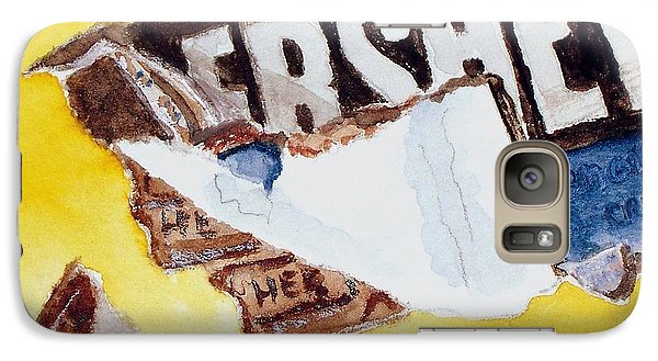 Galaxy Case featuring the painting Chocolate Bar  by Carol Grimes
