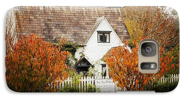 Galaxy Case featuring the photograph Chocolate Box Cottage by Therese Alcorn