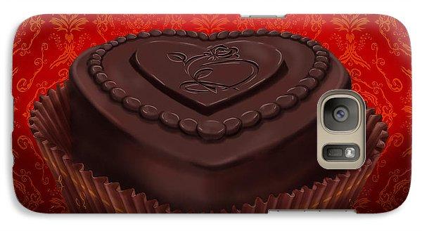 Chocolate Dark Galaxy S7 Case