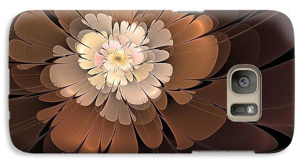 Galaxy Case featuring the digital art Chocolate Lilly by Svetlana Nikolova
