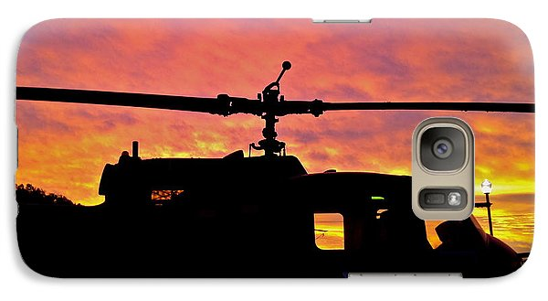 Galaxy Case featuring the photograph Chopper Down - No.0563 by Joe Finney