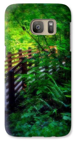 Galaxy Case featuring the photograph Chosen Path by Amanda Eberly-Kudamik