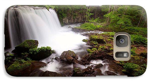 Choushi - Ootaki Waterfall In Summer Galaxy S7 Case
