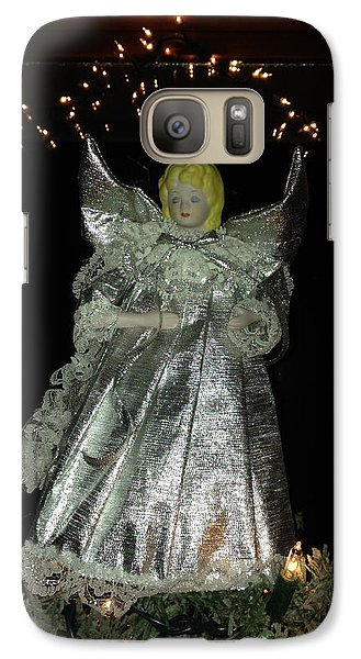 Galaxy Case featuring the photograph Christmas Angel by Peg Toliver