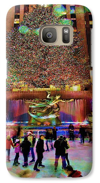 Galaxy Case featuring the photograph Christmas At The Rock by Chris Lord
