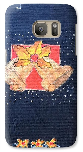 Galaxy Case featuring the painting Christmas Bells by Magdalena Frohnsdorff