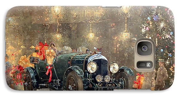 Car Galaxy S7 Case - Christmas Bentley by Peter Miller
