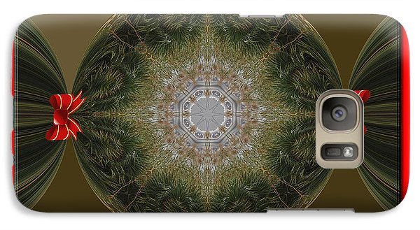 Galaxy Case featuring the photograph Christmas Candy by Michele Kaiser