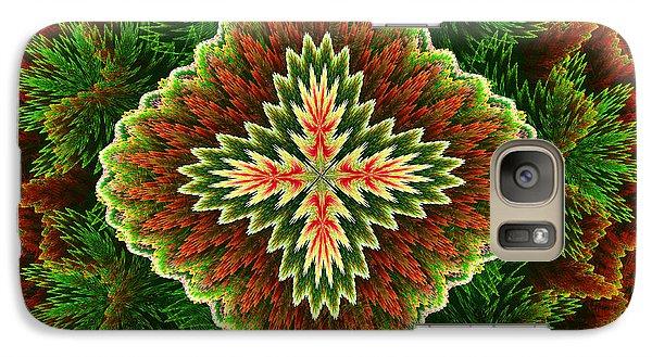 Galaxy Case featuring the digital art Christmas Carpet by Svetlana Nikolova