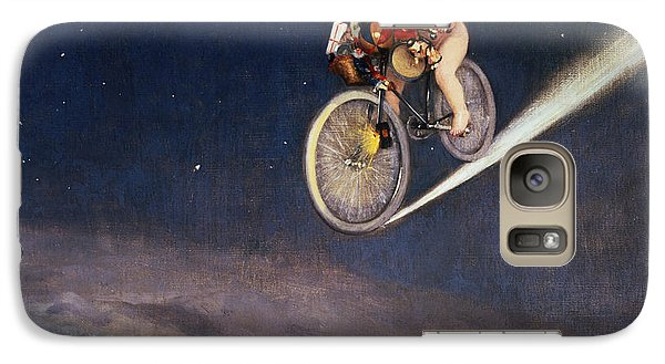 Bicycle Galaxy S7 Case - Christmas Delivery by Jose Frappa
