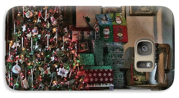 Galaxy Case featuring the photograph Christmas by Denise Romano