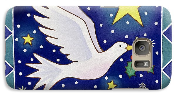 Christmas Dove  Galaxy S7 Case