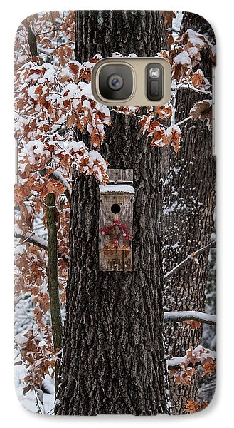 Galaxy Case featuring the photograph Christmas Greetings by Wayne Meyer