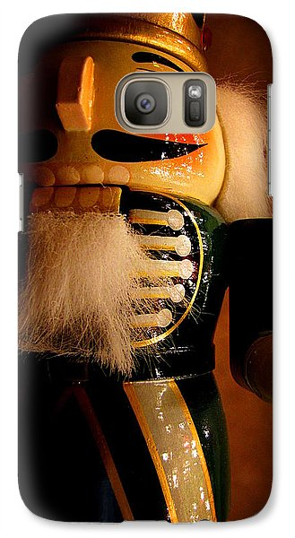 Galaxy Case featuring the photograph Christmas Guard by Greg Simmons