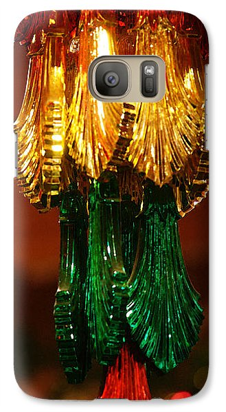 Galaxy Case featuring the photograph Christmas Holiday Party 4 by Linda Shafer